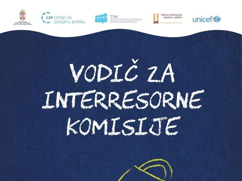 Vodič za interresorne komisije za procenu potreba za pružanjem dodatne obrazovne, zdravstvene ili