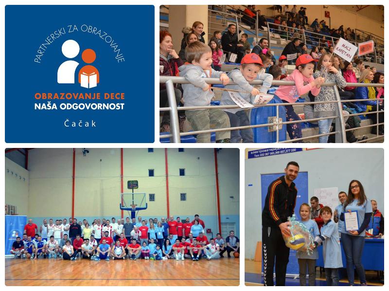 Čačak: Roditelji i nastavnici organizovali turnir u basketu