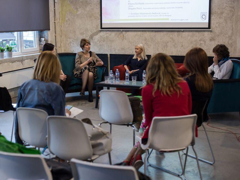 Otvoreni razgovori o prevenciji pušenja kod mladih u Srbiji