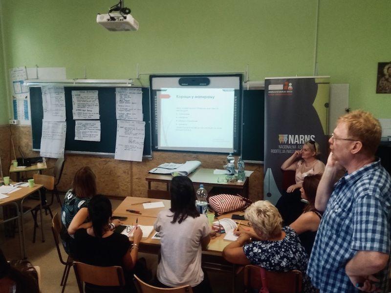Obuka za pisanje i realizaciju projekata u oblasti obrazovanja za nastavnike i nastavnice u Subotici
