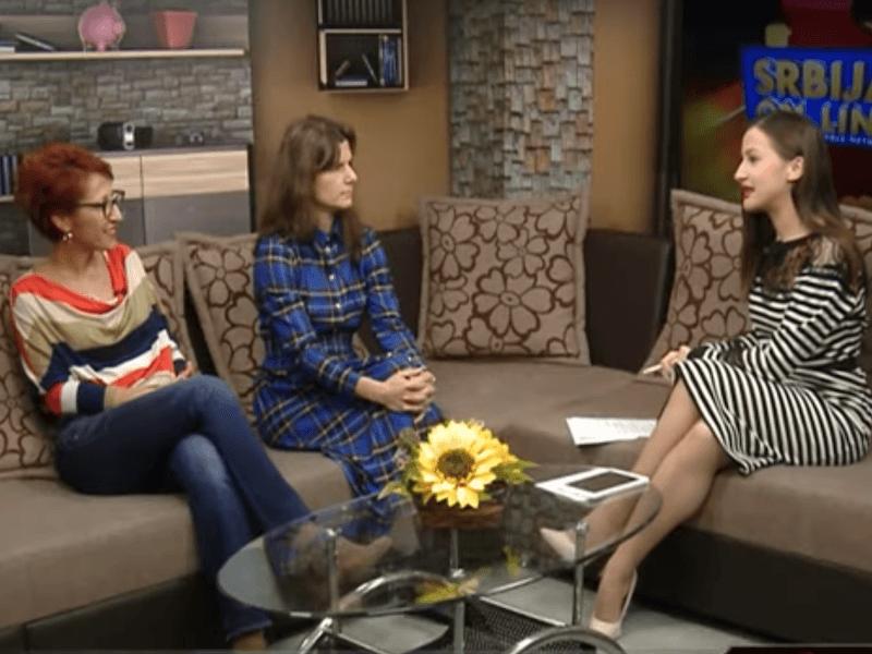 Gostovanje članica niškog Kluba roditelja i nastavnika na TV KCN