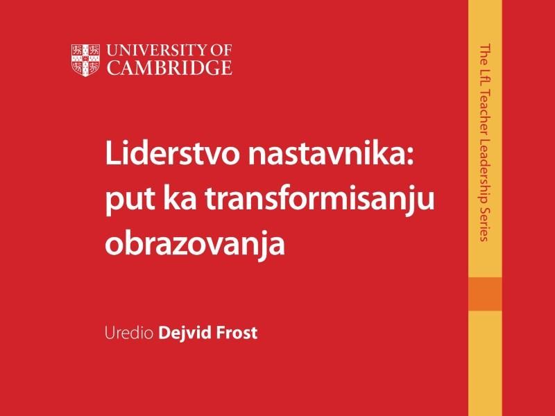 Liderstvo nastavnika: put ka transformisanju obrazovanja